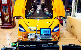 McLaren 720S từng của Nguyễn Quốc Cường về tay đại gia lan Sài Gòn được nâng công suất lên gần 1.000 mã lực