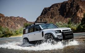 Land Rover Discovery mới sẽ có khung gầm 'xịn' hơn sau khi bị chính đàn em Defender 'cướp khách'