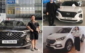 Bàn tay vàng trong làng bốc biển: 5 chủ xe Hyundai Santa Fe tại Hà Nội ẵm 5 biển ngũ quý, sang tay nhanh thu về đôi ba tỷ đồng mỗi chiếc
