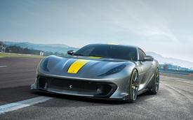 Ferrari 812 Superfast 2021 lần đầu lộ diện, ra mắt 5/5 với động cơ khủng nhất từ trước đến nay