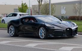 Siêu phẩm độc nhất vô nhị Bugatti La Voiture Noire lần đầu lộ diện ngoài đời thực