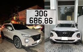 Chạy 20.000km, chủ nhân Hyundai Santa Fe biển '686.86' vẫn tự tin bán xe giá hơn 3 tỷ đồng