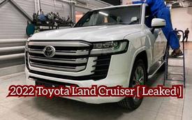 Clip: Soi cận mặt lô Toyota Land Cruiser 2022 với thiết kế lột xác trước ngày mở bán