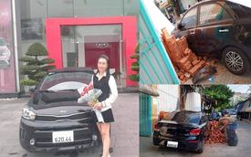 Vừa tươi cười nhận xe mới không lâu, nữ chủ nhân Kia Soluto khiến CĐM 'bật cười' với tình cảnh sau đó