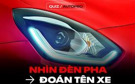 [Quiz] Thử tài đoán tên xe chỉ bằng cách nhìn đèn pha