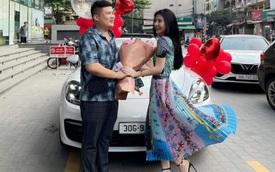 """""""Hot girl rửa bát"""" lên xe hoa, được gia đình chồng tặng xế hộp xịn Porsche Panamera trị giá hơn 5 tỷ"""