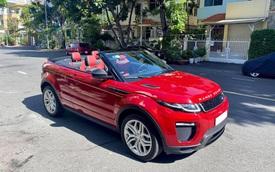 Mới chạy 900km, đại gia Việt rao bán Range Rover Evoque mui trần hiếm 'nhất nhì' Việt Nam giá 3,4 tỷ đồng