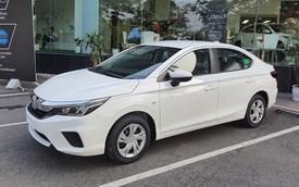 Honda City E 2021 ồ ạt về đại lý: Xe dịch vụ giá 499 triệu, vẫn số tự động, đấu Toyota Vios số sàn