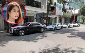 Rolls-Royce Ghost của Ngọc Trinh dẫn đầu đoàn siêu xe tiền tỷ diễu hành trên phố Sài Gòn