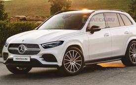 Mercedes-Benz GLC mới lộ mặt với nội thất giống C-Class