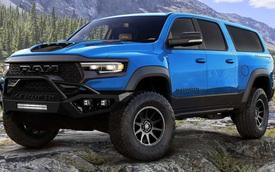 Hennessey 'hô biến' bán tải Ram TRX thành SUV 7 chỗ mạnh 1.000 mã lực, giá khởi điểm 375.000 USD
