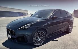 Xem trước Maserati Grecale - SUV nhỏ, rẻ nhất của Maserati, đấu Mercedes-Benz GLC