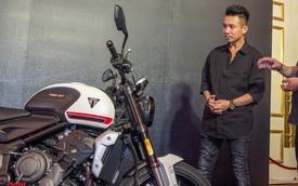 Ra mắt Triumph Trident 660 giá 270 triệu đồng: Minh 'Nhựa' tìm ngay xe màu trắng để ngồi thử