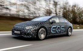 Mercedes EQS công bố thông số trước ngày ra mắt: Đi tối đa 770km, sạc nhanh 15 phút đi 300km