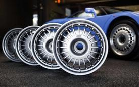 Choáng với bộ mâm siêu xe Bugatti có giá ngang Kia Morning