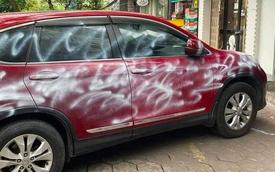 Danh tính người xịt sơn lên toàn thân ô tô Honda CR-V vì đỗ chặn cửa hàng ở Hải Phòng