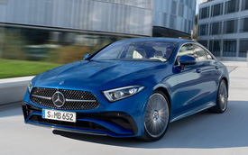Ra mắt Mercedes-Benz CLS 2022 - Bản coupe trẻ hóa của S-Class