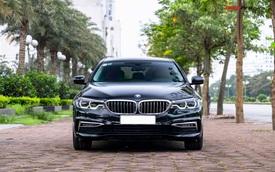 Chưa kịp bóc hết nilon, đại gia Việt bán BMW 530i vừa mua giá 2,5 tỷ để chờ bản facelift sắp ra mắt