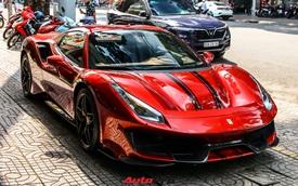 Cận cảnh Ferrari 488 Pista Spider thứ hai về Việt Nam: Nhiều chi tiết carbon gây ấn tượng về mặt thị giác