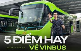 5 điểm vượt trội của VinBus so với xe buýt truyền thống: Không chỉ chạy điện mà còn có nhiều tính năng hay ho chưa từng có