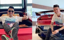Minh 'nhựa' tiết lộ biển số Aston Martin V8 Vantage vừa tậu với phong cách chụp ảnh chuẩn 'dân chơi'