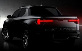Hyundai Santa Cruz tiếp tục nhá hàng trước giờ G: Thiết kế nhỏ gọn, sành điệu, không chỉ thuần chở hàng