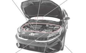 Kia Cerato facelift tiếp tục lộ thêm thông tin hot: Trông như K5, gắn logo mới cỡ lớn