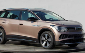 Volkswagen tung teaser SUV 3 hàng 'bán chạy nhất tương lai', video leak lộ nguyên thiết kế