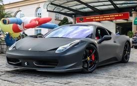 Đổi chủ, Ferrari 458 Italia cũ của Tống Đông Khuê lên màu áo mới