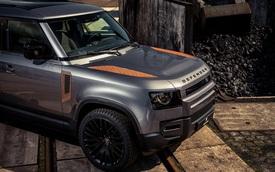 Land Rover Defender độ kiểu rỉ sét cho nhà giàu thích chơi trội