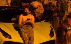 Thanh niên chạy siêu xe Ferrari 488 GTB giá hơn 10 tỉ đồng bị tạm giữ ở quận 8