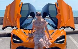 Sau Ferrari F8 Tributo, cô gái Phú Yên tiếp tục bổ sung McLaren 720S vào bộ sưu tập xe hàng chục tỷ đồng
