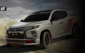 Mitsubishi hồi sinh thương hiệu Ralliart: Triton sẽ có bản đấu Ford Ranger Raptor