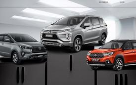 Top MPV tháng 4/2021: Mitsubishi Xpander tiếp tục dẫn đầu, bán gấp gần 4 lần Toyota Innova