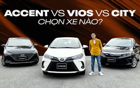 So kè Vios, City, Accent: Cân từng thông số thực tế để chọn sedan B quốc dân của người Việt