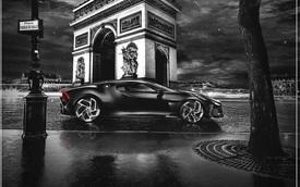 Siêu xe giá khủng nhất thế giới Bugatti La Voiture Noire đã hoàn thiện, sẵn sàng chờ ngày ra mắt