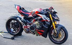 Biker Việt chi gần 1 tỷ đồng độ Ducati Streetfighter V4, riêng bộ mâm ngang ngửa chiếc Honda SH