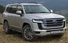Lộ thông tin động cơ Toyota Land Cruiser 2022: Máy xăng V6 mạnh hơn V8 cũ, thêm cả loại diesel mới
