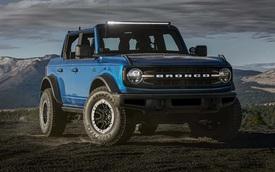 Ford Bronco dùng hộp số 10 cấp của Explorer khiến khách hàng không hài lòng