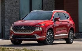 Hyundai Santa Fe thế hệ mới sẽ tăng kích thước, hứa hẹn nội thất ngày càng rộng hơn