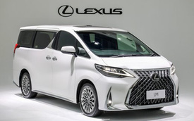Ra mắt Lexus LM 350 tại Việt Nam, giá bán từ 6,8 tỷ đồng cho đại gia thích khác biệt