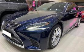 Mua 9 tỷ bán hơn 6 tỷ, chủ nhân Lexus LS 500h 'gánh' khoản lỗ đủ tậu BMW X3 dù mới chạy 20.000km