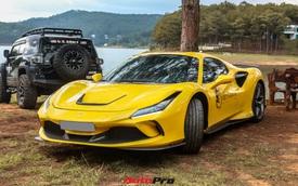 Ferrari F8 Spider của nữ doanh nhân cà phê 9x nâng cấp hàng loạt 'đồ chơi' hàng hiệu