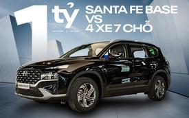 Tầm 1 tỷ, chọn Hyundai Santa Fe 2021 base hay CR-V G, Outlander 2.4 hay CX-8, Sorento đều máy 2.5?