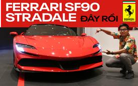 Thử cảm giác giàu sang trên Ferrari SF90 Stradale - Cỗ máy đắt tiền dành cho đại gia Việt