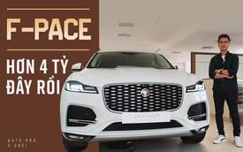 Trải nghiệm bên trong Jaguar F-Pace 2021 vừa ra mắt Việt Nam: Sờ xịn, dùng sướng, chuẩn đẳng cấp SUV cỡ nhỏ cho nhà giàu
