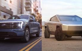 Ford F-150 Lightning vs Tesla Cybertruck: Một phân khúc, hai thái cực