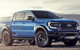 Ford Ranger 2 cửa giá siêu rẻ chạy thử - Bán tải dịch vụ mong chờ về Việt Nam