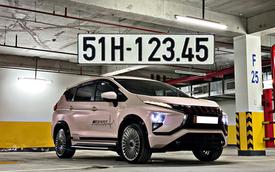 Treo biển '123.45', Mitsubishi Xpander độ mâm kiểu Maybach rao bán với giá hơn 900 triệu đồng