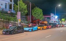 Dàn siêu xe của giới đại gia Sài Gòn bất ngờ xuất hiện tại Đắk Nông